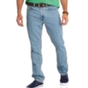 Faded Glory Original Denim Blue Jeans Distressed